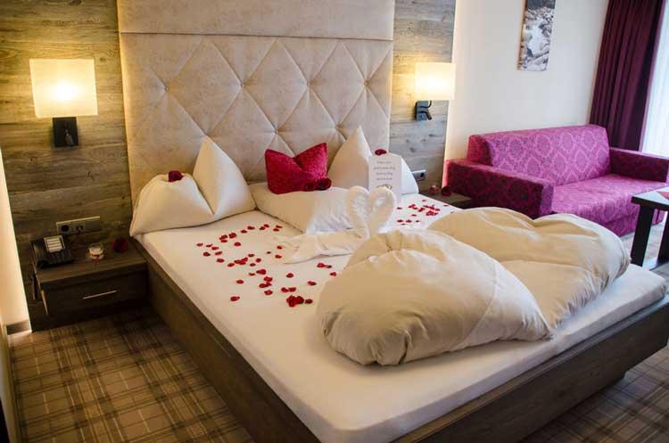 Hotelfotografie Tirol Zimmer