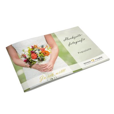 Preisliste Hochzeit