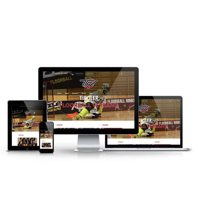 Tiroler Floorball Verband Website
